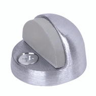 Tell DT100032 Door Stop Floor High Dome Brss