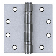 Tell HG100320 4 Inch Ball Bearing Door Hinge Stainless Steel Removable Pin