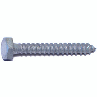 Midwest Fastener 05557 1/4 By 2 Inch Galvanized Hex Head Lag Screws