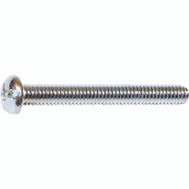 Midwest Fastener 07668 #8 32 By 2 Inch Combination Round Head Machine Screws
