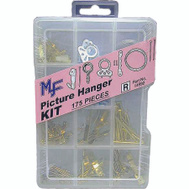 Midwest Fastener 14992 Hanger Picture Kit 175Pc Asstd