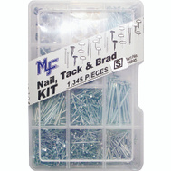 Midwest Fastener 14995 Nails Tacks And Brads Assortment