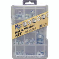 Midwest Fastener 14997 Nuts And Washer Assortment