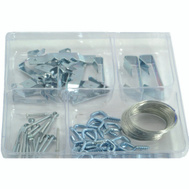 Midwest Fastener 23592 Hanger Picture Kit 61Pc Asstd