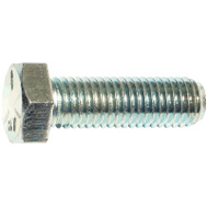 Midwest Fastener 53388 Screw Hex Zinc Gr5 5/8-11X2in (Box Of 15)