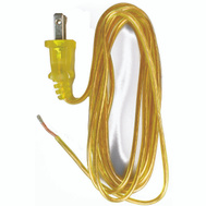Jandorf 60136 Lamp Replacement Cord 8 Foot 18/2 SPT-2 Gold