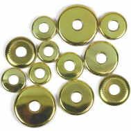 Jandorf 60140 Lamp Check Rings Assorted Sizes Brass Finish