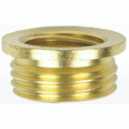 Jandorf 60148 Nipple Reducer Connects 3/8 Male To 1/8 Female Brass Finish