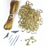 Jandorf 60260 Ceiling Swag Chain Kit Polished Brass With 15 Foot Chain And 20 Foot Cord