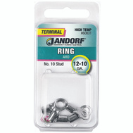 Jandorf 60831 Ring High Temp Number 10 Stud Wire Gauge 12-10