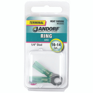 Jandorf 60895 Terminal Ring 16-14 Heat Shrink 1/4