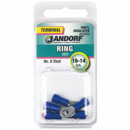Jandorf 60906 Terminal Ring 16-14 Vinyl Insulated N8