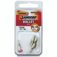 Jandorf 60926 Terminal Bullet 22-18 Female Uninsulated