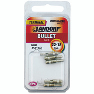 Jandorf 60927 Terminal Bullet 22-18 Male Uninsulated