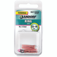 Jandorf 60961 Terminal Ring 22-18 Heat Shrink N6