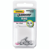 Jandorf 60966 Terminal Ring 16-14 Uninsulated N6