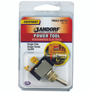 Jandorf 61132 Switch Toggle Single Pole Single Throw On/Off 2 Screw