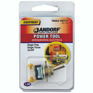 Jandorf 61149 Switch Toggle Single Pole Single Throw On/Off 2 Screw