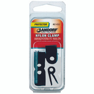 Jandorf 61450 Clamp Nylon Black 1/2 By 3/16