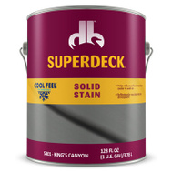 Duckback DPI053014-16 Superdeck Stain Solid Cf Kngs Canyon Gal