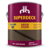 Duckback DPI053024-16 Superdeck Stain Solid Cf Lodge Brown 1G