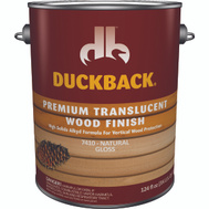 Duckback SC0074104-16 Wood Finish Translucent Natural Gloss Gallon