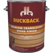 Duckback SC0074204-16 Wood Finish Translucent Natural Satin Gallon