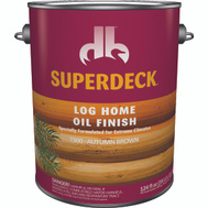 Duckback DPI073004-16 Superdeck Log Home Exterior Finish Oil Brown Gallon