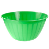 FLP 9456-Green Easy Pack Green Salad And Chip Bowl