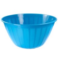 FLP 9456-Blue Easy Pack Blue Salad And Chip Bowl