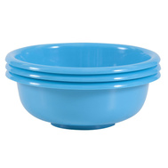 FLP 8000 Easy Pack 4.4 Ounce Round Plastic Bowls Pack Of 3