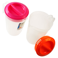 FLP 8011 Easy Pack Plastic Juice Pitcher 2 Quart Assorted Colors