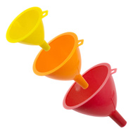 FLP 8222 Cooks Kitchen Cooking Funnels Pack Of 3 Assorted Colors