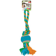 FLP 8854 Bow Wow Pals Pet Toy Nylon Rope Ball Assorted Colors