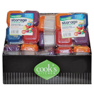 FLP 8866 Cooks Kitchen Pdq Ck Minicontainer 4Pk Assorted Colors