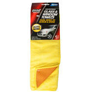 FLP 8903 Elite Auto Care Microfiber Glass And Window Towel Assorted Colors