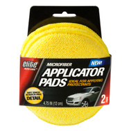 FLP 8906 Elite Auto Care Automotive Microfiber Applicator Pad Pack Of 2