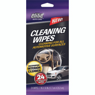 FLP 8911 Elite Auto Care Auto Cleaning Wipes 24 Pack Assorted Colors