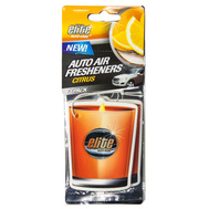 FLP 8914 Elite Auto Care Auto Air Freshener 3 Pack Citrus Scented