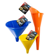 FLP 9698 Elite Auto Care Auto Funnels Assorted Sizes & Colors