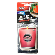 FLP 8988 Elite Auto Care Scented Candle 3 Pack Strawberry Scented