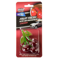 FLP 8990 Elite Auto Care Fresh Fruit Auto Air Freshener Cherry Assorted Colors