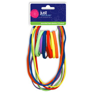 FLP 9310 Just Because Hair Band/Elastics Assorted Colors