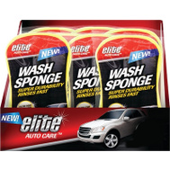 FLP 9696 Elite Auto Care Auto Wash Sponge Assorted Colors