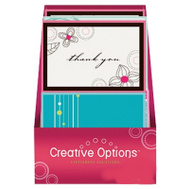 FLP 9901 Creative Options Note Cards Assorted Colors