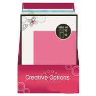 FLP 9903 Creative Options Letter Set Assorted Colors
