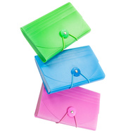 FLP 9862 Creative Options Coupon Holder Assorted Colors