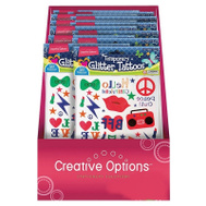 FLP 9911 Creative Options Kids Tattoos Assorted Colors