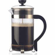 Epoca PCP-6408 Classic Glass 8 Cup Coffee Press With Black Handle