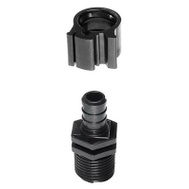 Flair It 30842 Pex Adapter Male Blk 1/2In